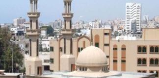 En nybygd moské på Gaza-stripen. Bildet skal være tatt i 2011. (Foto: proisraeli, flickr.com)