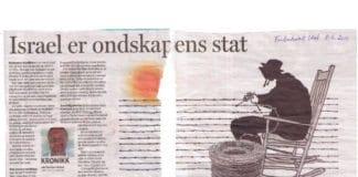 Israel er ondskapens stat, hevder lærer i Fredrikstad.