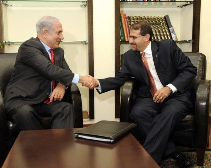 Benjamin Netanyahu og Danny Shapiro