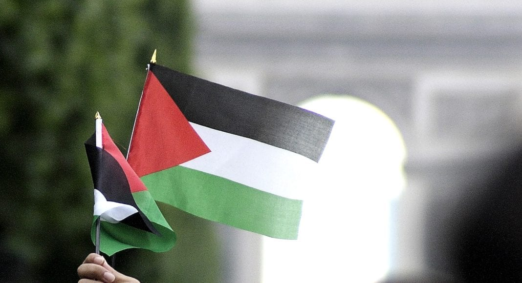 Palestina-flagg (Illustrasjonsfoto: Jean-François Gornet, flickr.com.