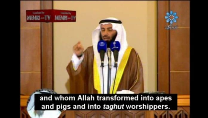 Predikanten Sheik Nayef Hajjaj Al-Ajami taler på Kuwait TV 25. november 2011 (Memri)