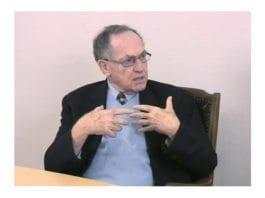 Professor Alan Dershowitz i intervju med MIFF i mars 2011.