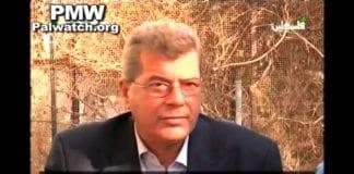 Issa Karake hedrer Ahmad Sa'adat. (Skjermdump fra PA TV, via PMW)