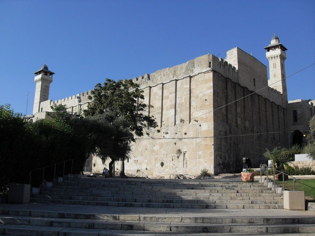 Patriarkenes grav i Hebron. (Foto: Djampa, Wikimedia Commons)
