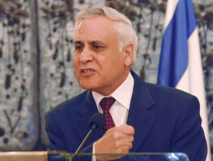 Moshe Katsav (Foto: GPO)