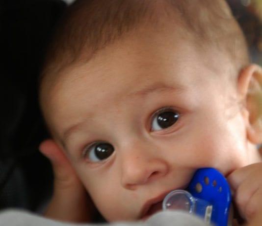 Baby på bussen i Jerusalem. (Foto: WKeown, flickr.com)