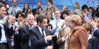 Frankrikes Sarkozy og Tysklands Merkel. (Illustrasjonsfoto: Junge Union Deutschlands, flickr.com)