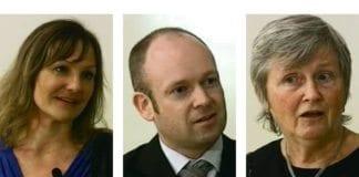 Hildegunn Hansen, Jørund Rytman og Eli Finsveen.