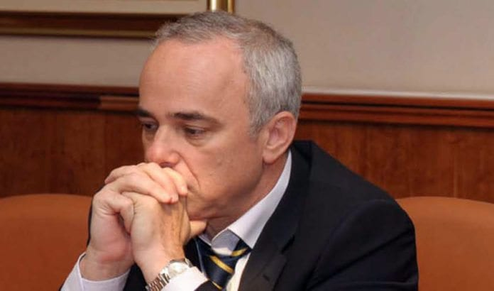 Finansminister og Likud-politiker Yuval Steinitz. (Foto: GPO)