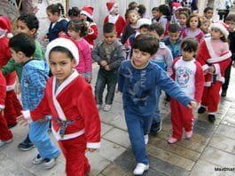 Barn i Kfar Kana i Nord-Israel julen 2011. (Foto: Max Nathans, flickr.com)