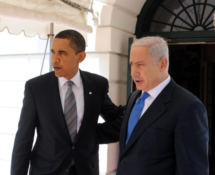 President Barack Obama og statsminister Benjamin Netanyahu. (Foto: GPO)