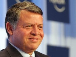 Kong Abdullah av Jordan. (Foto: Nader Daoud, World Economic Forum)