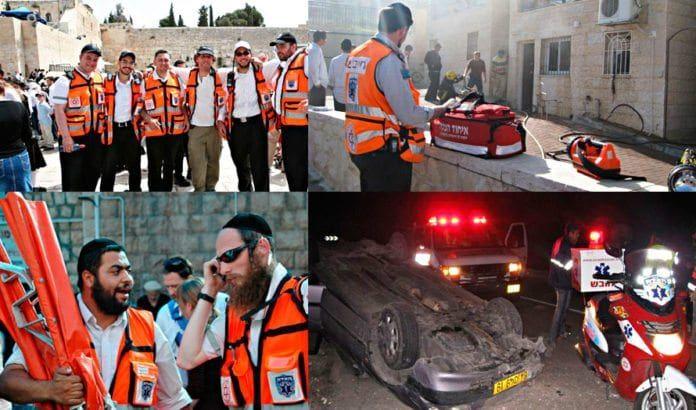 Bilder fra unitedhatzalah.org. (Montasje: MIFF)