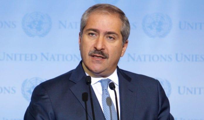 Jordans utenriksminister Nasser Judeh. (Foto: FN)