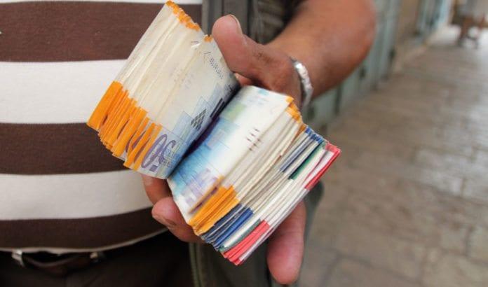 Israelske shekel. (Illustrasjonsfoto: Conrad Myrland, MIFF)