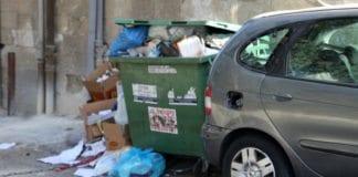 Søppel kan hope seg opp når kommunalt ansatte streiker. (Illustrasjonsfoto: Conrad Myrland, MIFF)