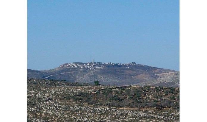 Bosetningen Yitzhar. (Foto: Menachem Brody)