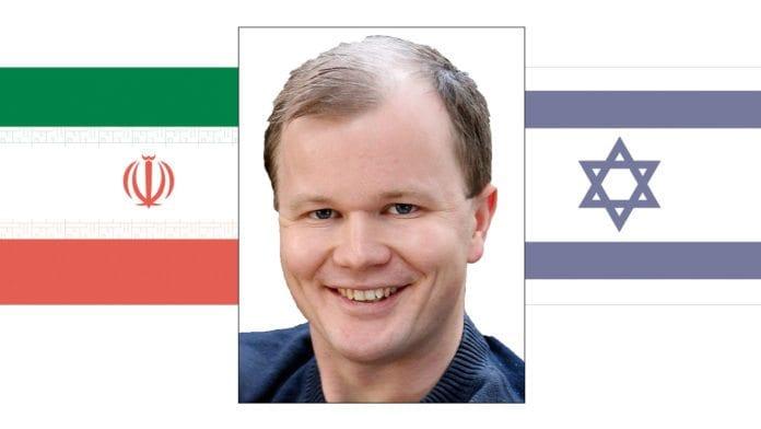 Conrad Myrlands foredrag om Iran-Israel. (Illustrasjonsfoto: MIFF)