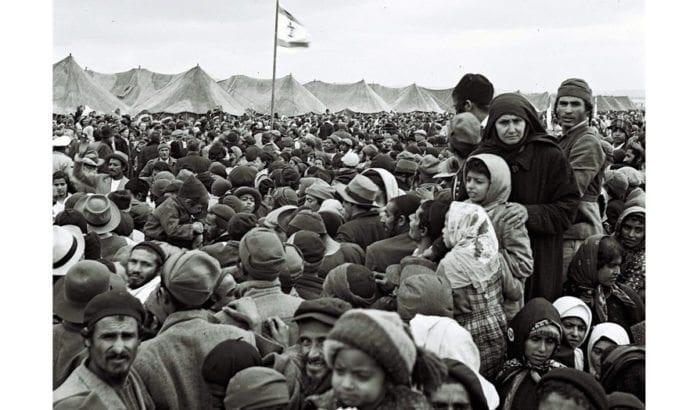Jødiske flyktninger fra arabiske land fant nødhavn i Israel. (Arkivfoto: GPO)