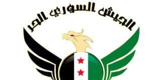 Offisiell logo for Fri Syria-hæren. (Foto: Wikimedia)