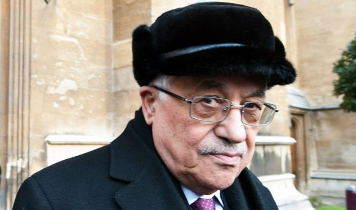 Mahmoud Abbas. (Foto: Catholic Church England and Wales)
