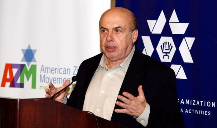 Jewish Agencys leder Natan Sharansky. (Foto: Jewish Agency)