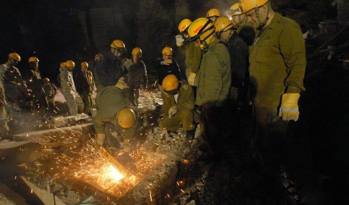 Fra en øvelse i det israelske sivilforsvaret i 2008. (Illustrasjonsfoto: Jim Greenhill, flickr.com)