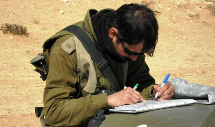 IDF-offiser. (Illustrasjonsfot: IDF)