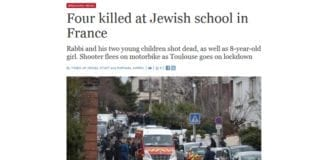 Skjermdump fra timesofisrael.com kl. 12.05 mandag 19. mars 2012.