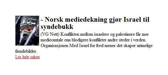 Skjermdump fra VG Nett.