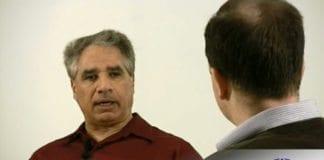 Skjermdump fra MIFFs videointervju med Isa Bajalia.