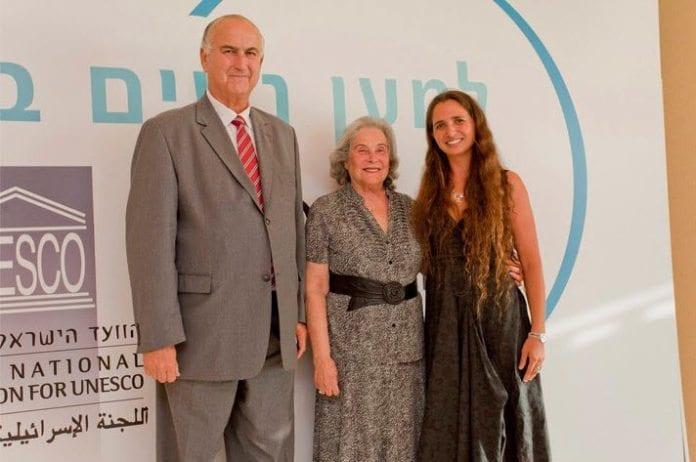 Naama Geva-Zatorsky til høyre. (Foto: L'Oréal-UNESCO For Women in Science, Facebook-side)