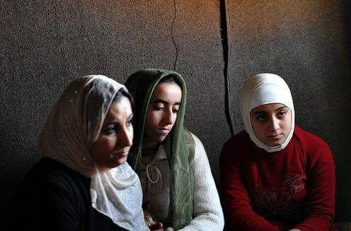 Disse palestinerne har flyktet fra Irak til Jordan. I løpet av ni år er 75 prosent av palestinerne i Irak drevet bort med vold og trusler. (Foto: UNHCR)