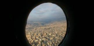 Fra innflygingen til Beirut, hovedstaden i Libanon. (Illustrasjonsfoto: Andrea Gotico, flickr.com)