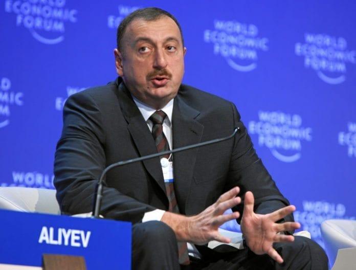 Ilham Aliyev, presidenten i Aserbajdsjan, har gitt Israel grønt lys til å angripe Irans atominstallasjoner fra flybaser i eget land. (Foto: Christof Sonderegger, swiss-image.ch)Ilham Aliyev, presidenten i Aserbajdsjan, har gitt Israel grønt lys til å angripe Irans atominstallasjoner fra flybaser i eget land. (Foto: Christof Sonderegger, swiss-image.ch)
