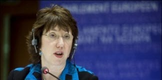 Catherine Ashton hevder hun har blitt misforstått av Israel, som mandag anklaget henne for å trekke paralleller mellom skyteepisoden i Toulouse og barns lidelser på Gaza-stripen. (Foto: EU-parlamentet)