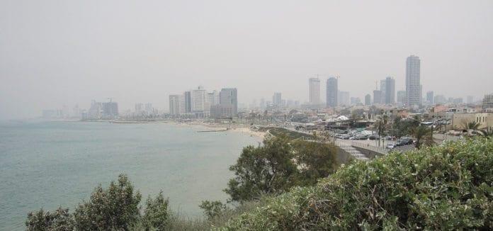 Utsikt over Tel Aviv. (Illustrasjon: Pablo Escobedo)