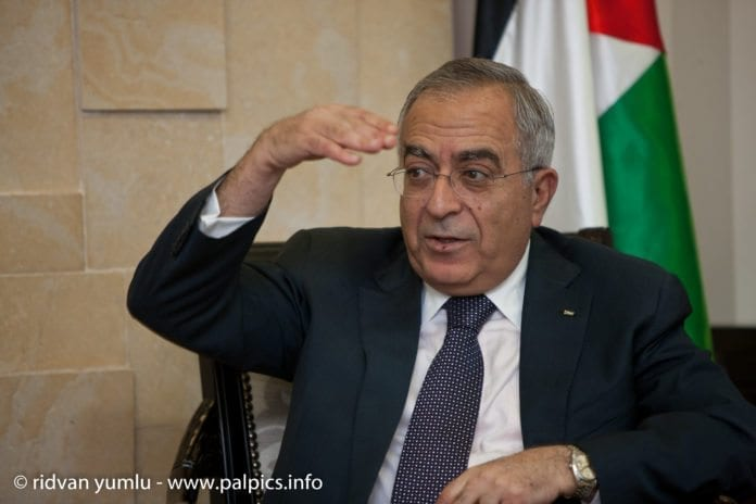 - Terroristens kriminelle handling fordømmes på det sterkeste, uttalte PA-statsminister Salam Fayyad onsdag. (Foto: palpics.info)