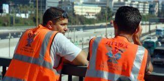 Israelske veiarbeidere. (Illustrasjonsfoto: David King, flickr.com)