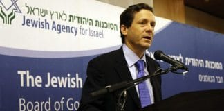 Knesset-medlem Isaac Herzog. (Foto: Jewish Agency)