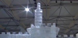 Jerusalem av is-utstillingen. (Skjermdump fra promoteringsvideo på YouTube.)