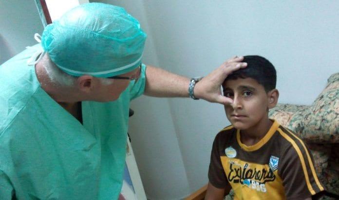 Stadig flere palestinere får medisinsk behandling i Israel. (Illustrasjonsfoto: Physicians for Human Rights - Israel)