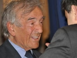 Elie Wiesel er en verdenskjent fredsforkjemper. (Foto: Veni Markovski)