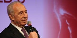 Israels president Shimon Peres mener IDF er sterkere enn noensinne. (Foto: Ewan McIntosh)