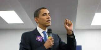 """USAs president Barack Obama understreker at """"aldri mer"""" må forbli noe mer enn bare et slagord. (Foto: Roger H. Goun)"""