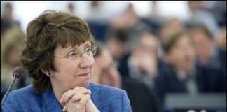 """EUs utenriksminister Catherine Ashton mener samtalene med Iran lørdag var """"konstruktive"""". (Foto: EU-parlamentet)"""