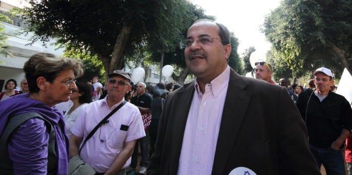 Det arabiske Knesset-medlemmet Ahmed Tibi skaper nye kontroverser i Israel. (Foto: Yossi Gurvitz)
