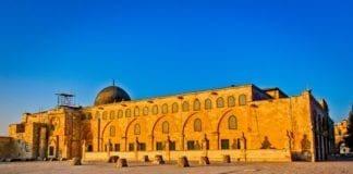 Al-Aqsa moskeen på Tempelhøyden i Jerusalem. (Foto: Asim Bahrwani)