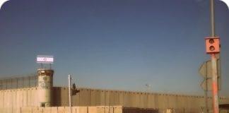 Det israelske fengslet Ofer. (Illustrasjon: Ariela Ross)