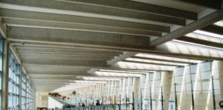 Ben Gurion flyplass. (Illustrasjon: Sarah Stierch)